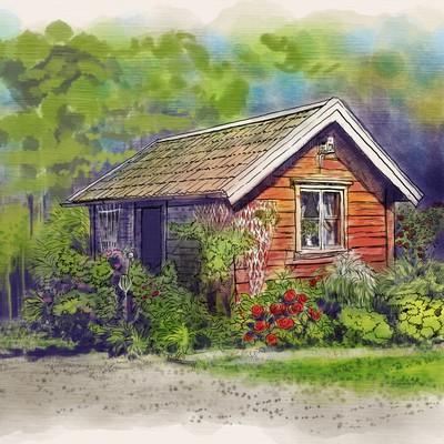 美丽的小屋