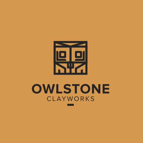 Owl brand with the title 'Logo for Artisan Tile Makers!'