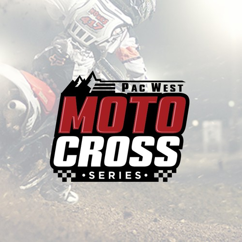 Series logo with the title 'Motocross'