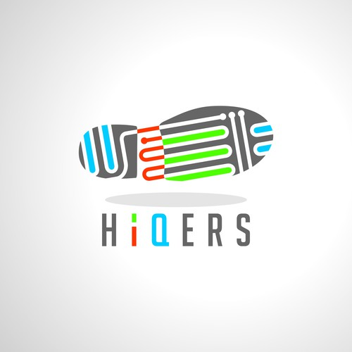 Backpacker logo with the title 'Please design a company logo associated with hikers and legal professionals'