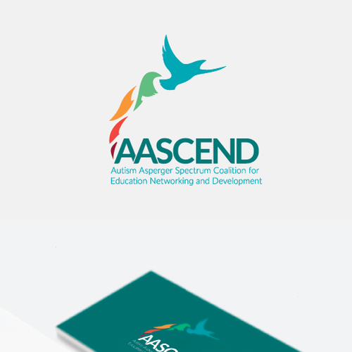 Autism design with the title 'Final logo design for AASCEND'