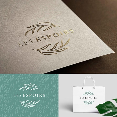 Pastry design with the title 'les espoirs'