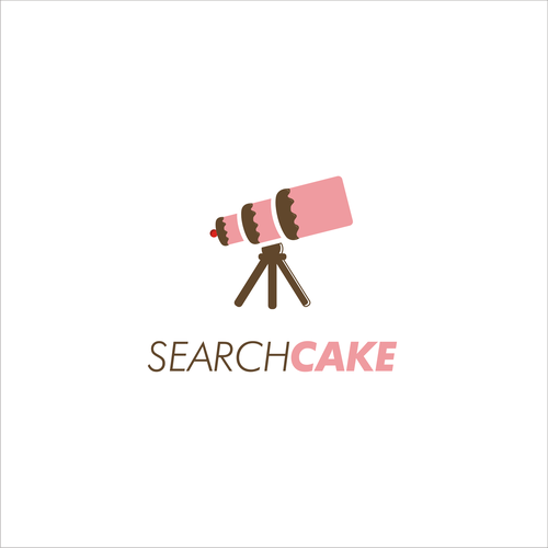 Browser logo with the title 'Search Cake'