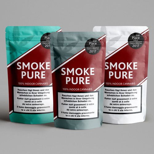 Punch design with the title 'Smoke Pure '