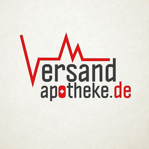 Heartbeat logo with the title 'Versand Apotheke'