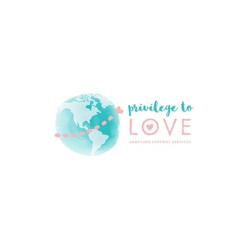 Journey logo with the title 'Logo for Privilege To Love Adoption Support Services'