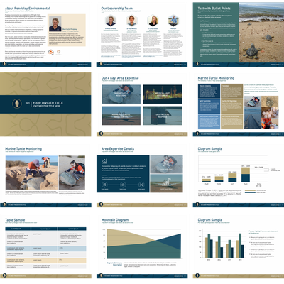 Powerpoint for BioMarine Conservation
