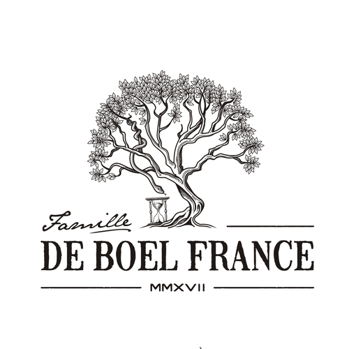 Python logo with the title 'Famille De Boel France'