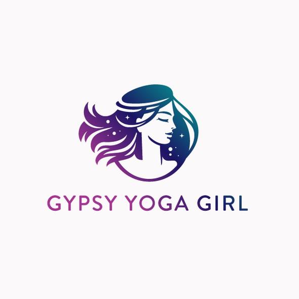 Gypsy design with the title 'Gypsy Yoga Girl'