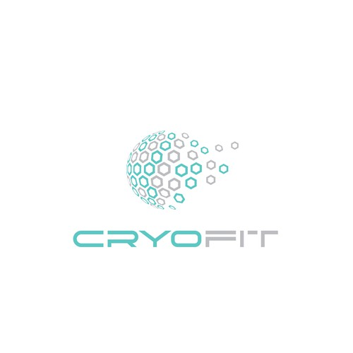 Beehive logo with the title 'Cryo Fitness Logo'