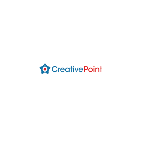 Point logo with the title 'Create Creative logo for advertising company'