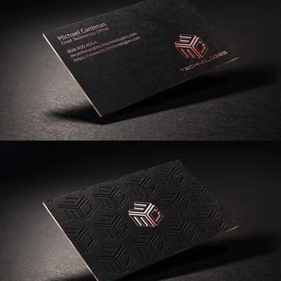Logo Tweak and Business Card Design For MC3 Technologies