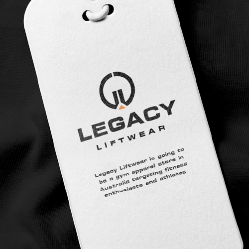 Athlete logo with the title 'LEGACY'