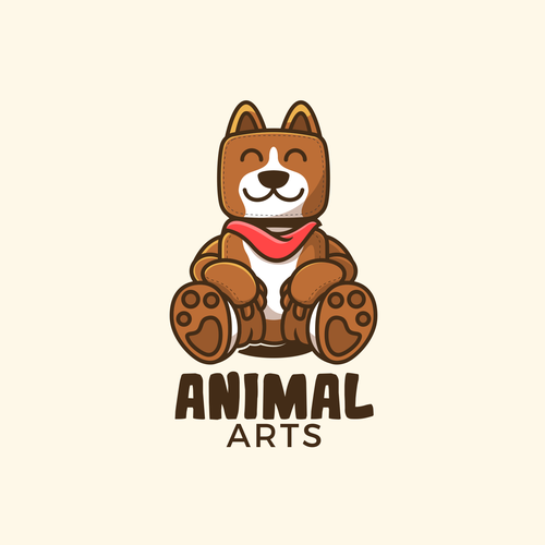 Greyhound logo with the title 'The Animal Arts'