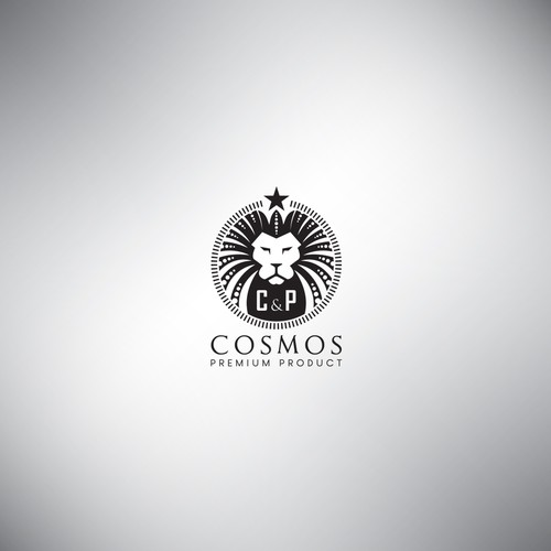 "Shaker design with the title 'Logo concept for ""C&P"" Cosmos Premium Product'"
