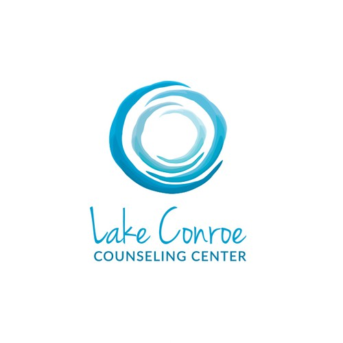 Circle design with the title 'Logo for a zen counseling practice'