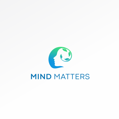 Physical therapy design with the title 'Mind Matters'