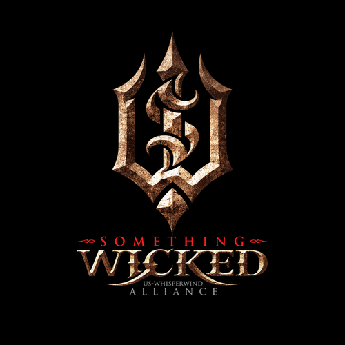 Gritty logo with the title 'Something Wicked'