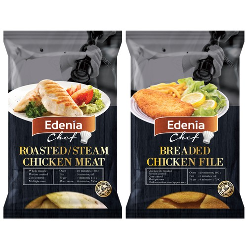 Premium packaging with the title 'Edenia Chef '