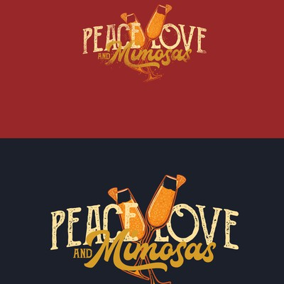 Design for Mimosas Cocktails