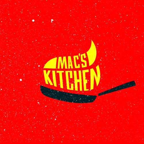 Brand mark logo with the title 'Mac's Kitchen'
