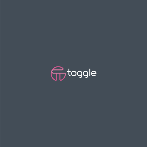 Winner logo with the title 'Bold logo concept for toggle'