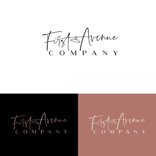 Hanger logo with the title 'First Avenue Company'