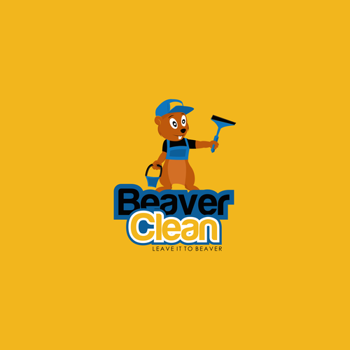 Beaver logo with the title 'Beaver Clean'