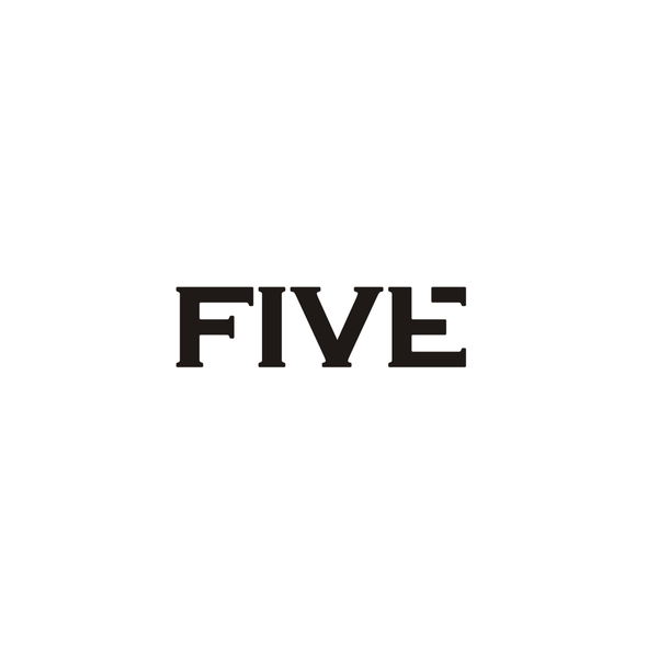 Five design with the title 'FIVE'