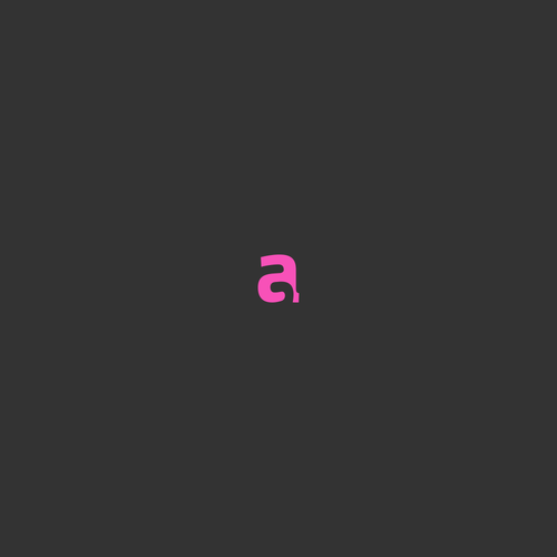 A brand with the title 'AG letter Logo'