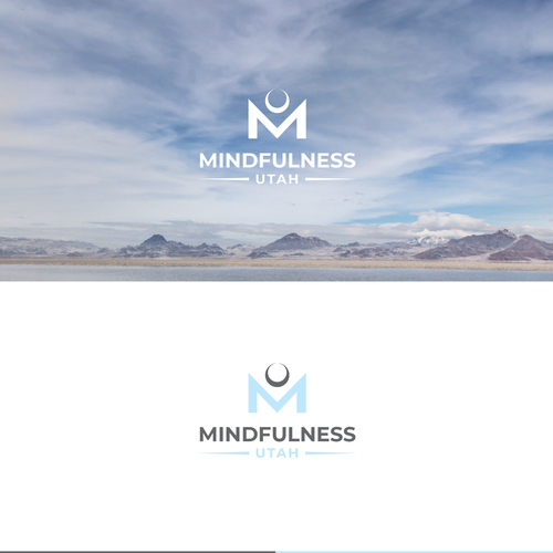 Mindfulness logo with the title 'Logo Mindfulness Utah'