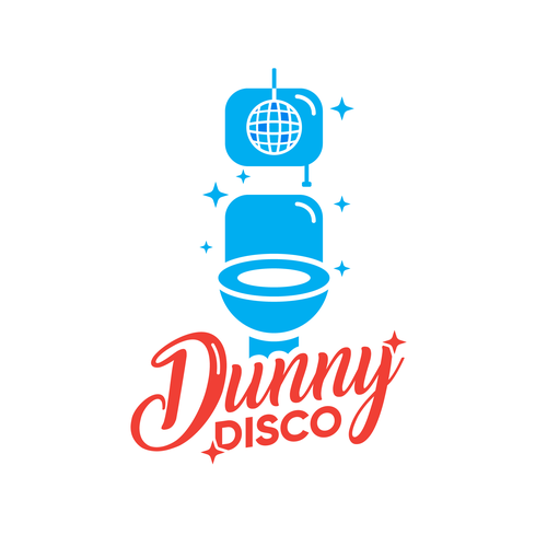 Glossy logo with the title 'Proposition de logo 'Dunny Disco''