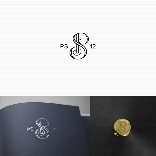 Intertwined design with the title 'Logo for PS 12'
