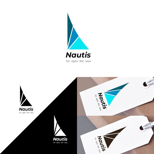 Naval design with the title 'Nautis logo 2'