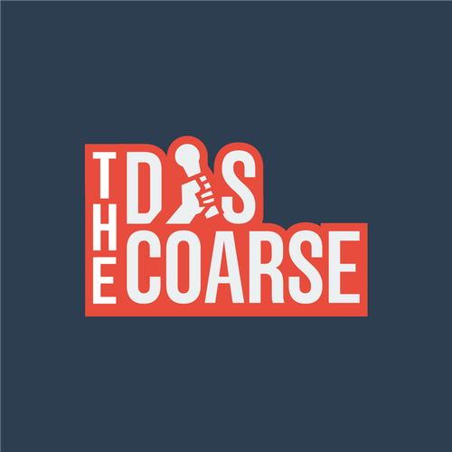 Asymmetrical logo with the title 'Bold Youthful Logo for The Discoarse'