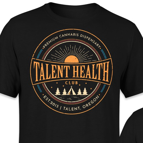 Health t-shirt with the title 'Tshirt design - Talent Health'