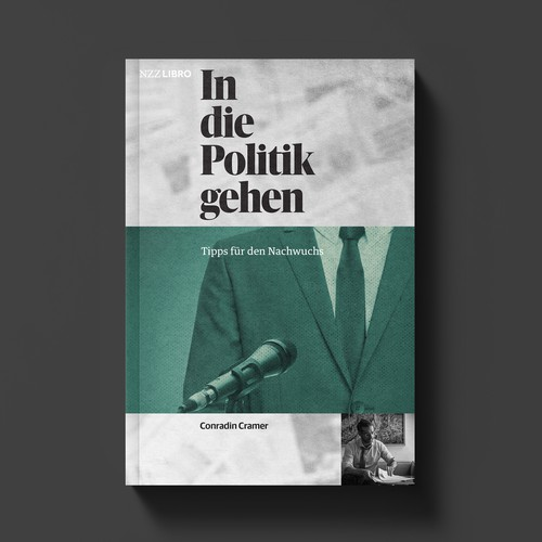 Conceptual book cover with the title 'The Politics Game'