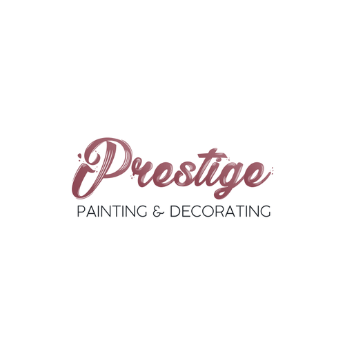 Decorating logo with the title 'Prestige (painting and decorating company) Logo Design'