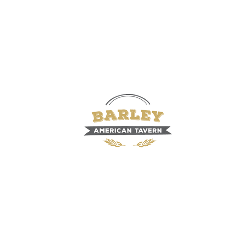 Barley logo with the title 'Vintage restaurant'
