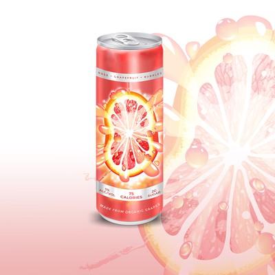 squeezed grapefruit