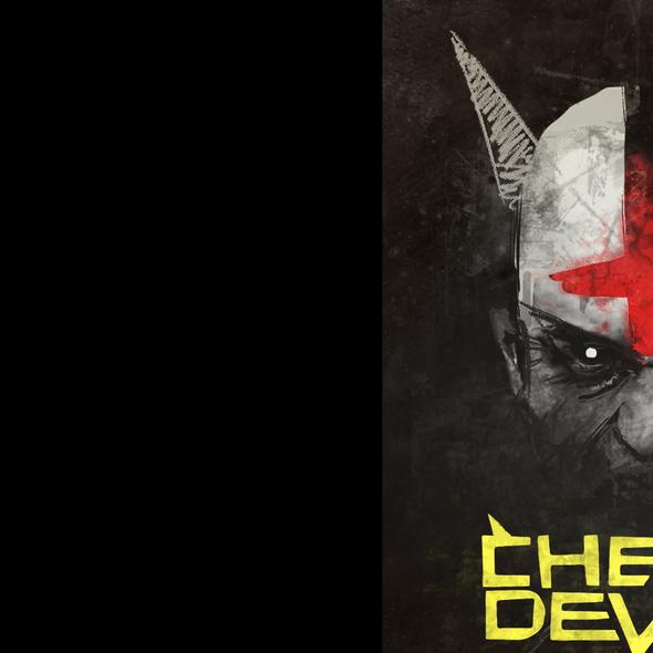 Devil artwork with the title 'Cheap Devils'