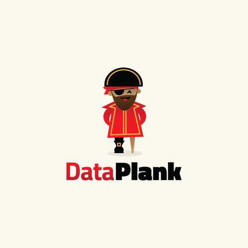 Pirate logo with the title 'DataPlank'