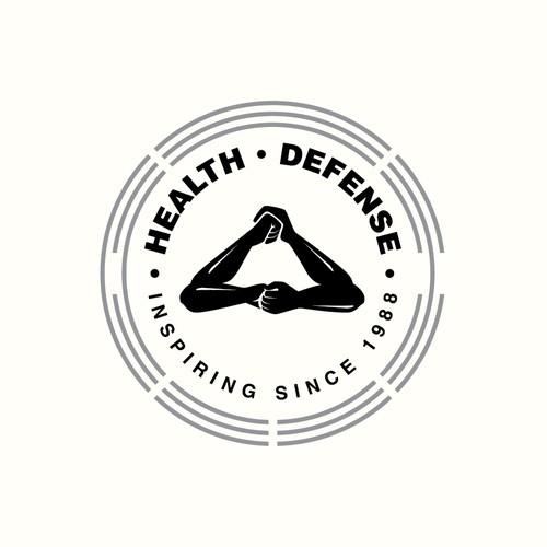 Wellness center logo with the title 'Health Defense'