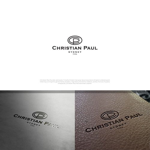 Stopwatch logo with the title 'Christian Paul Watches'