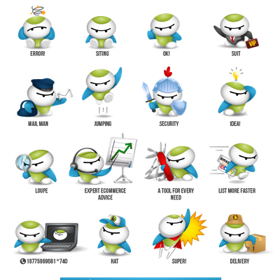 Cute Cartoon Mascot in different poses needed. Contest winner will get a job offer.