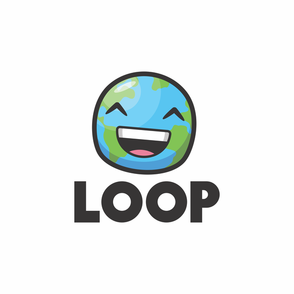 Traveler logo with the title 'Fun and playful logo concept for LOOP'