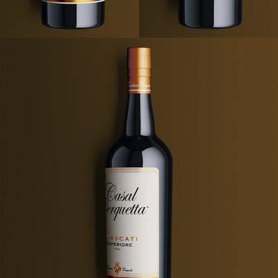 Casal Cerquetta Wine Label