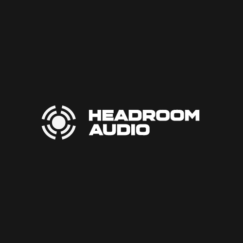 Communications brand with the title 'Powerful Logo for Headphone Manufacturer'