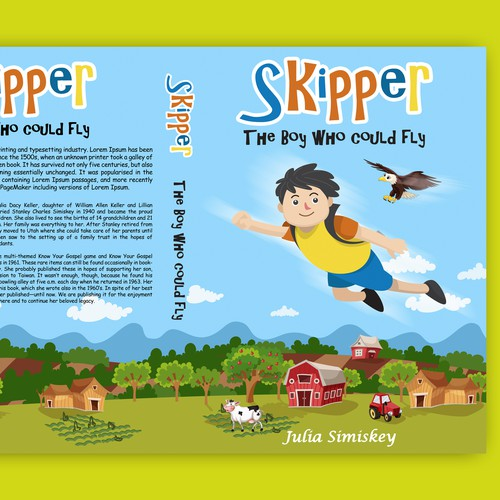 School book cover with the title 'SKIPPER'