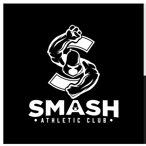 King Kong logo with the title 'SMASH ATHLETIC CLUB'
